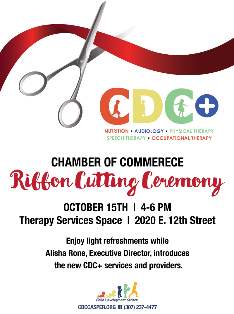 OCT. 15th – Chamber of Commerce Ribbon Cutting for CDC+